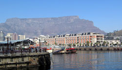 Cape Town Waterfront with Table Mountain